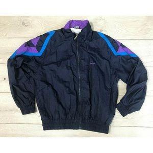 a3bc6934 Vintage 80s/90s HEAD Windbreaker Track Jacket Sz L